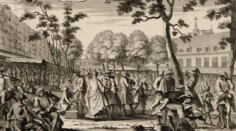 Hôtel de Soissons établie pour le commerce du papier en 1720 par Antoine Humblot