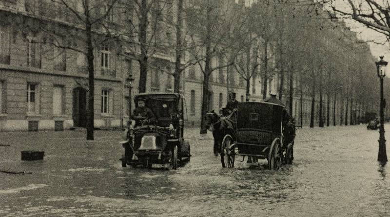 Inondation de l'avenue Bosquet