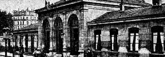 la morgue en 1907 lors sa fermeture - Petit Journal du 21 mars 1907