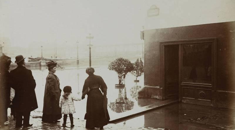Rue Beethoven par Harry C Ellis en 1910