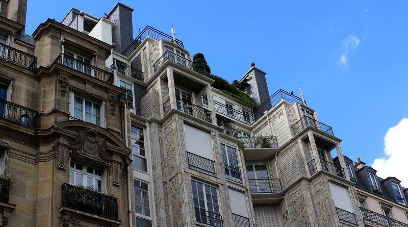 derniers étages de l'immeuble des frères Perret de la rue Franklin