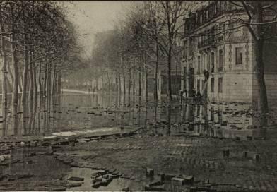 inondation du quai Debilly par les frères Neurdein- BHdV