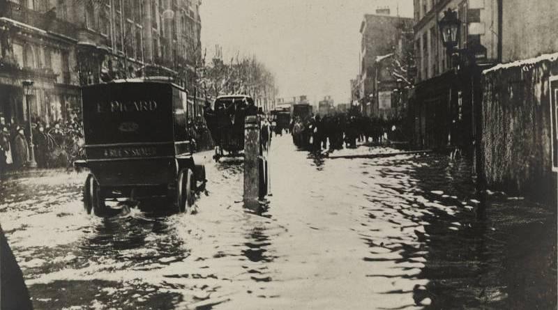 Avenue Ledru-Rollin en janvier 1910