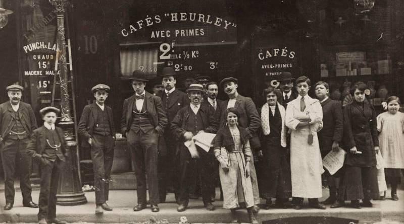 Epicerie, vins. Maison L. Heurley, 32, rue du Faubourg du Temple, et 1, rue de la Fontaine au Roi