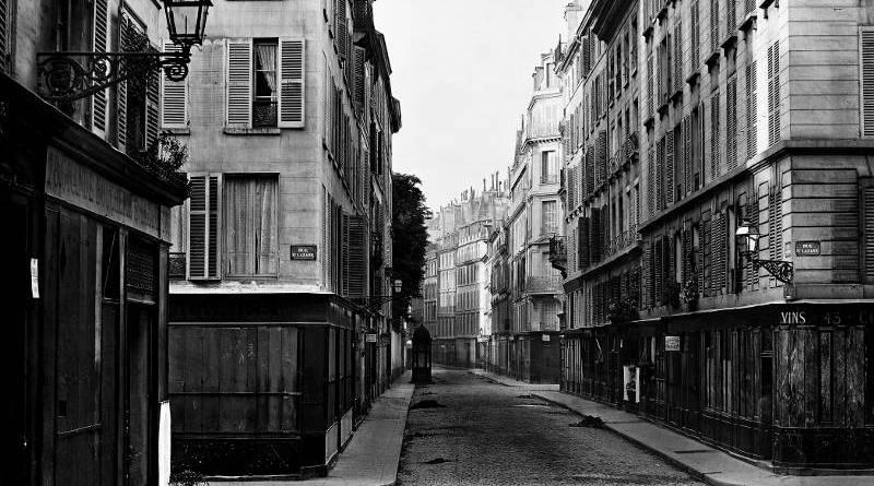 Rue Taitbout par Charles Marville