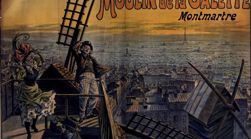 Moulin de la Galette Affiche par Georges Redon