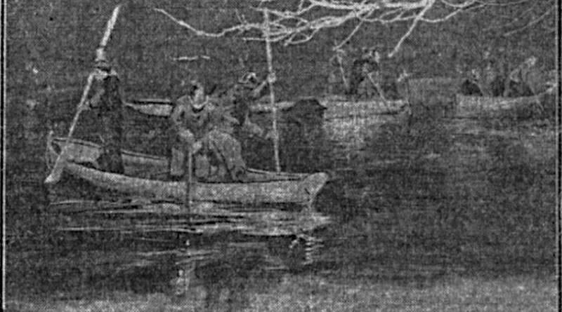Chute dans l'eau glacée au Bois de Boulogne
