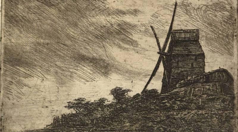 Le moulin de la Galette par Henri Guérard