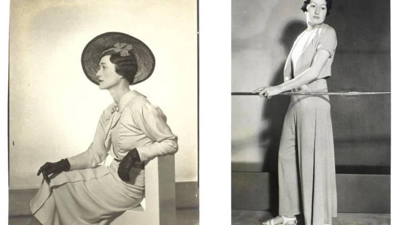 Photographies par Man Ray : Femme non identifiée vers 1925 et portrait de femme vers 1930
