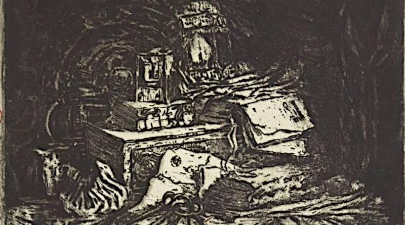 Bouquins et lanternes par Henri Guérard