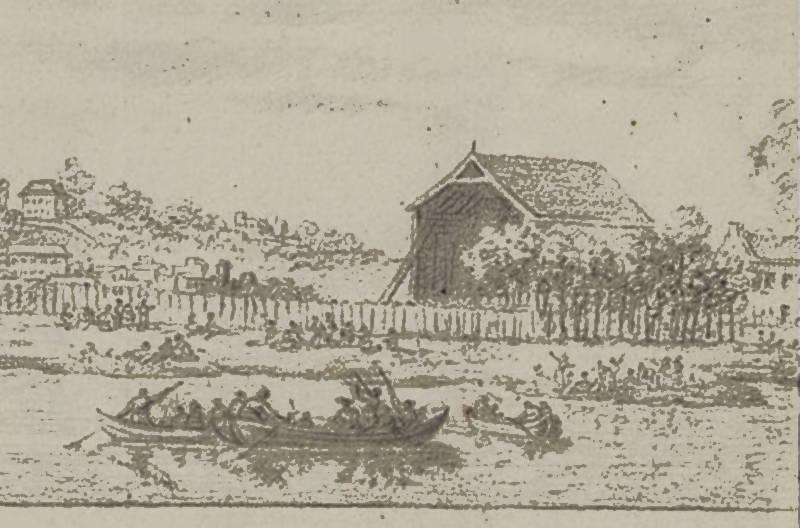Javel extrait de l'aerostat du comte d'Artois par L Chays