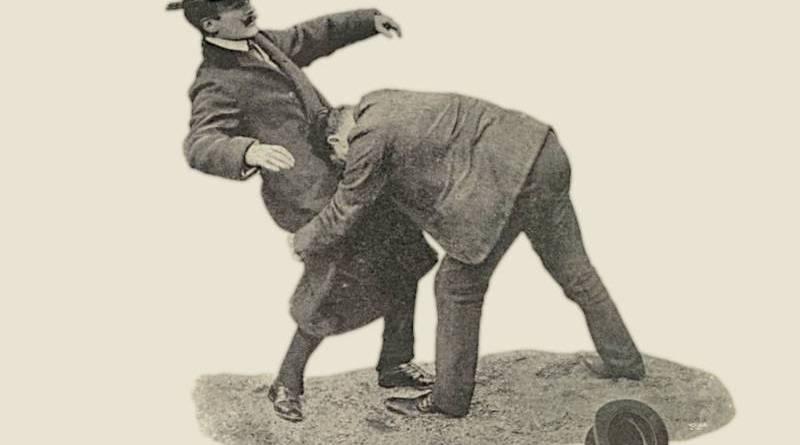 trucs pour se défendre face aux apaches extrait de la Vie au grand air du 8 décembre 1906
