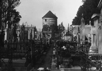 Le moulin du cimetière du Montparnasse par l'agence Meurisse en 1929