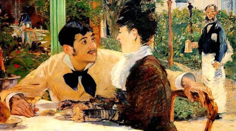 Chez le père Lathuile par Edouard Manet