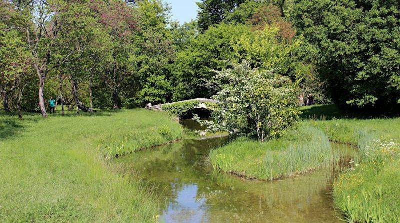petit pont et le limaçon de Trianon