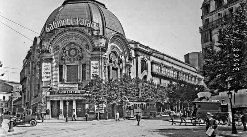le cinéma Gaumont Palace par l'Agence Roll en 1914