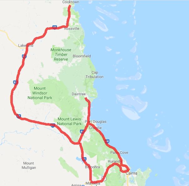 Road trips nord Mareeba