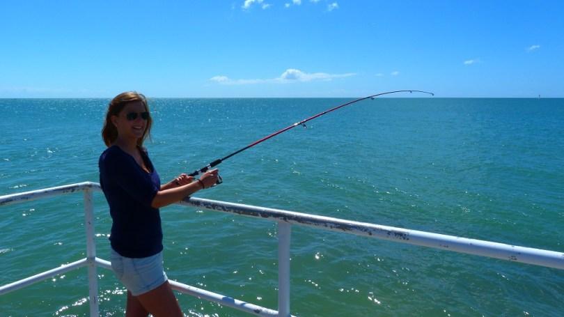 Heureusement on trouve facilement à manger car la pêche, c'est pas notre truc !