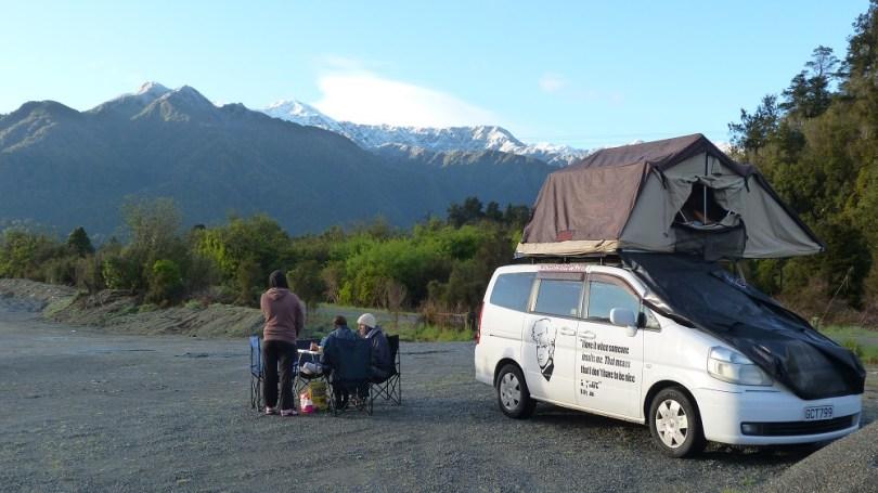 Le camping en Nouvelle-Zélande