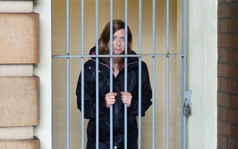 In jail !