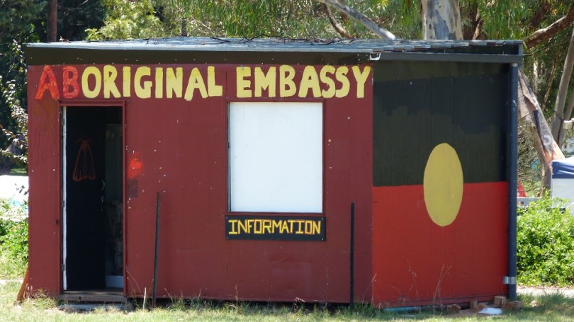 L'ambassade aborigène de Canberra