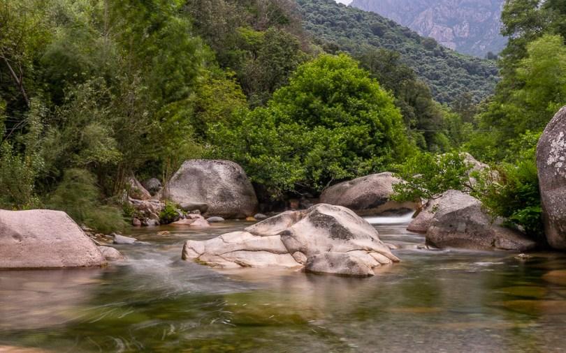Rivière à Casa del Torrente
