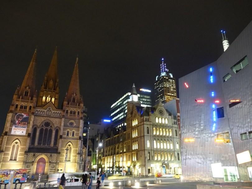 Melbourne Cathedrale Saint Patrick ville visite