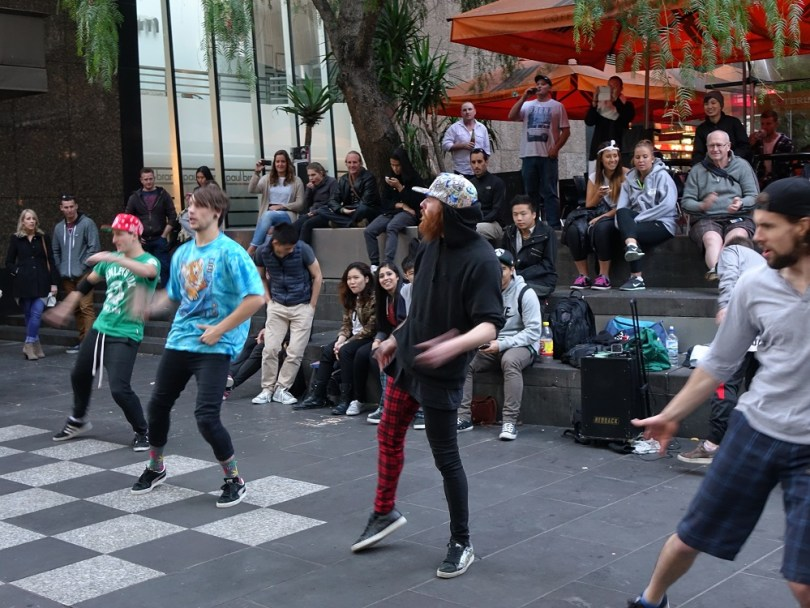 Melbourne street dance spectacle