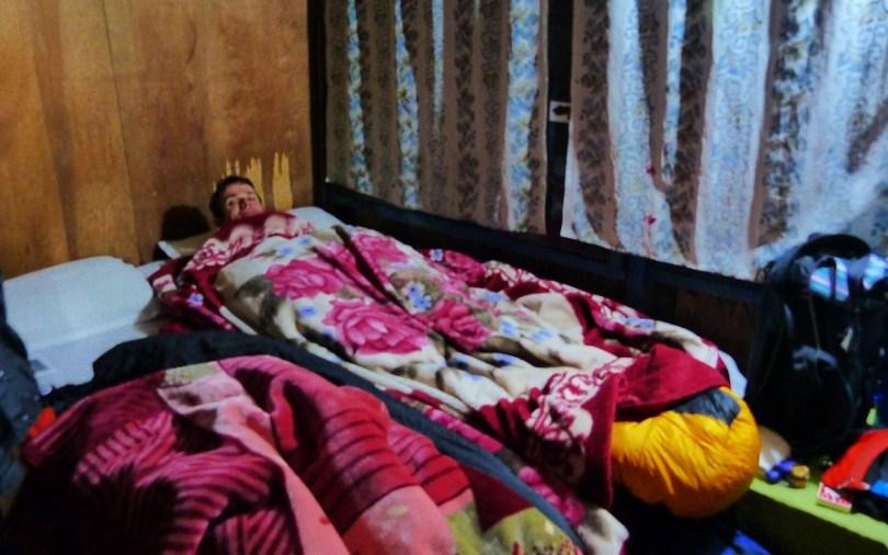 Notre première nuit à Bhulbule