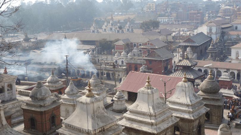 Pashupatinath bagmati cremation temple hindouiste