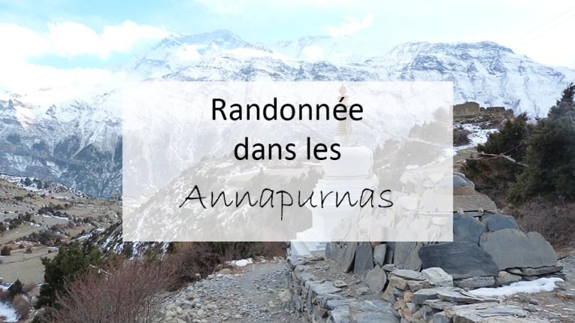 Randonnée dans les Annapurnas