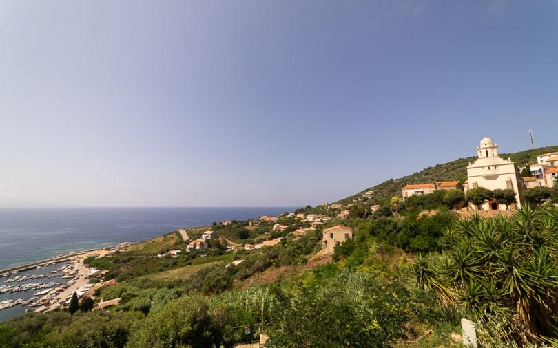 Vue panoramique de Cargèse