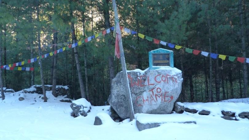 Annapurna : village Chame