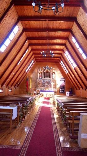 Chiloe eglise interieur