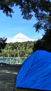 Osorno camping tente petrohue