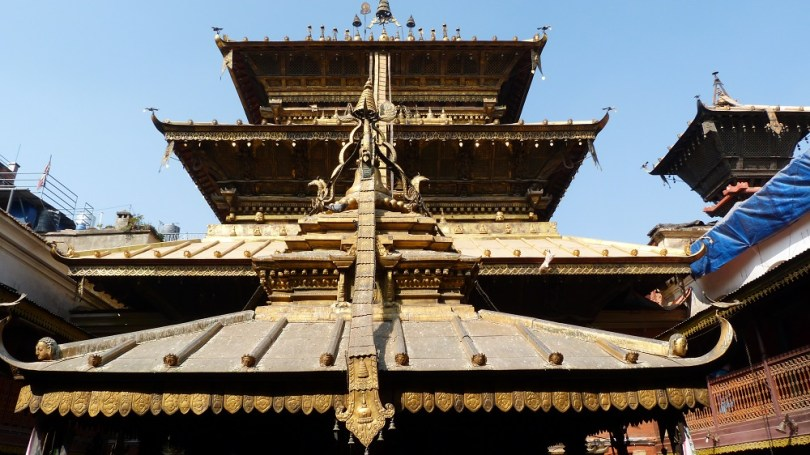 Patan nepal temple or Golden