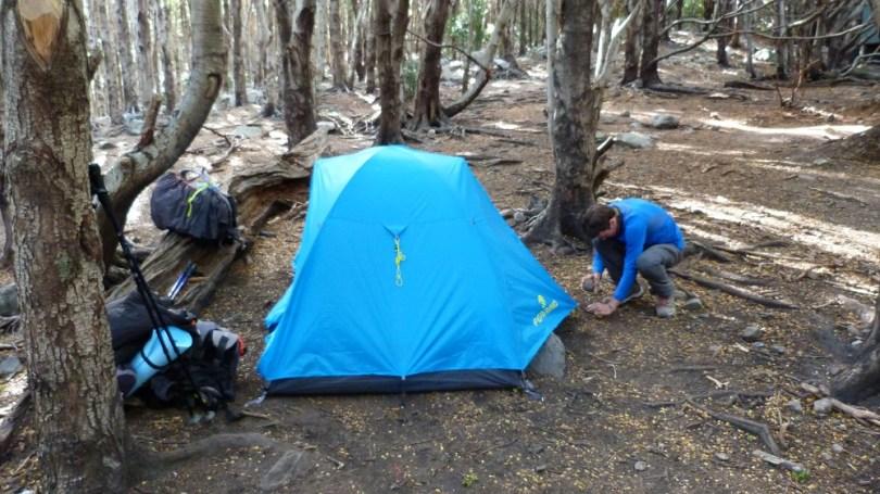 Campement italiano tente camping
