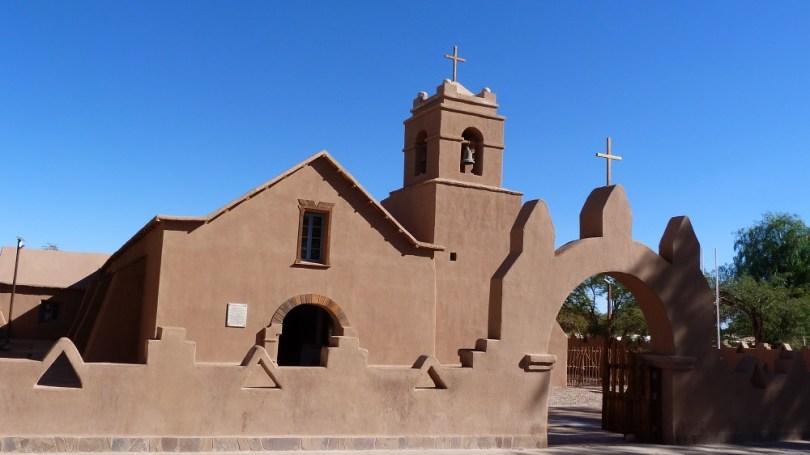 Eglise atacama adobe