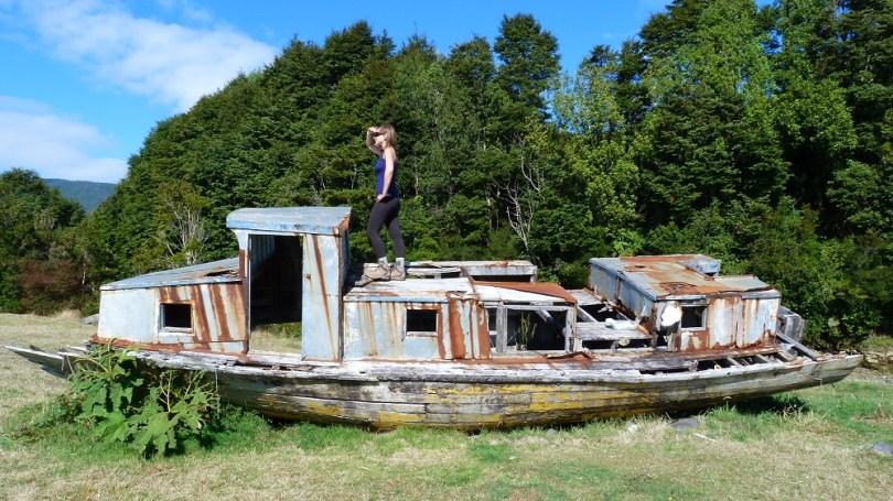 Patagonie Santa Barbara Morgane bateau