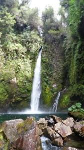 Pumalin patagonie cascade