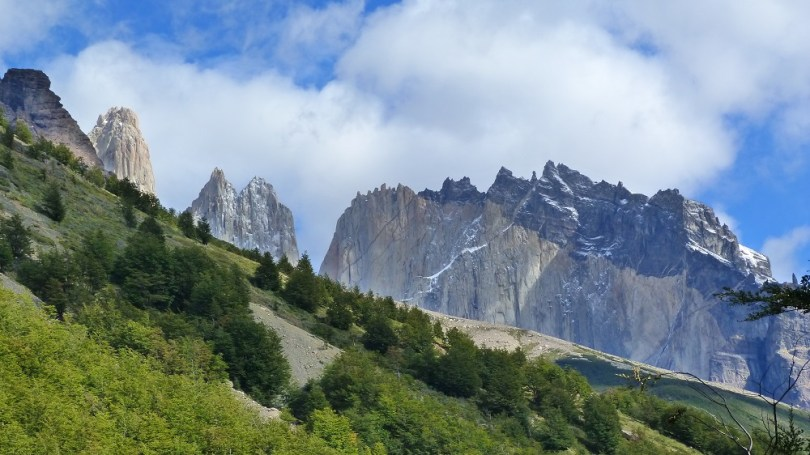 Torres del paine montagne