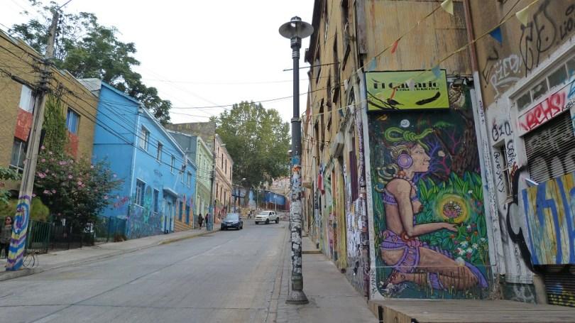 rue street art valpo