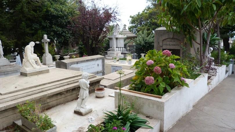 tombes cimetiere valpo