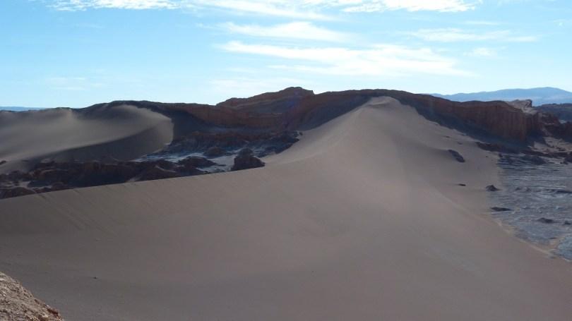 Valle de la luna dune sable