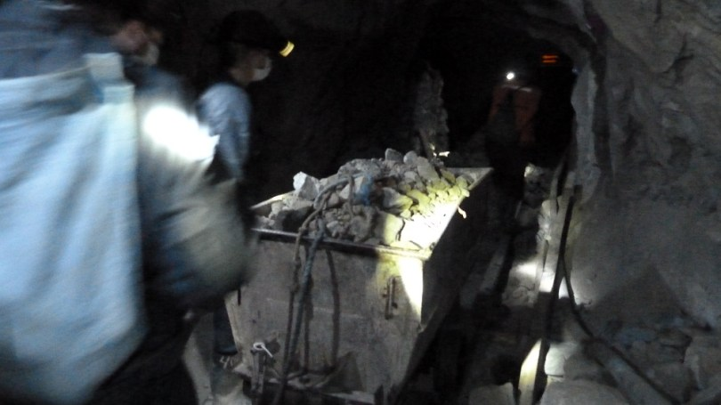 mines potosi chariot