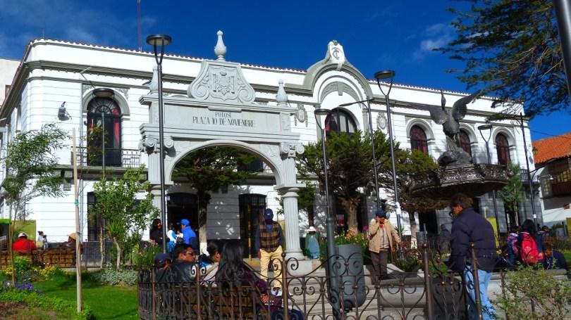 potosi plaza 10 de noviembre