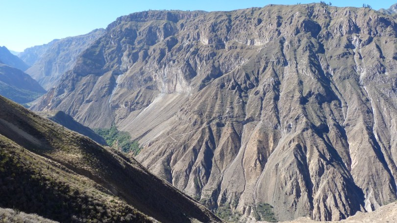 Cabanaconde vers Sangalle Canyon