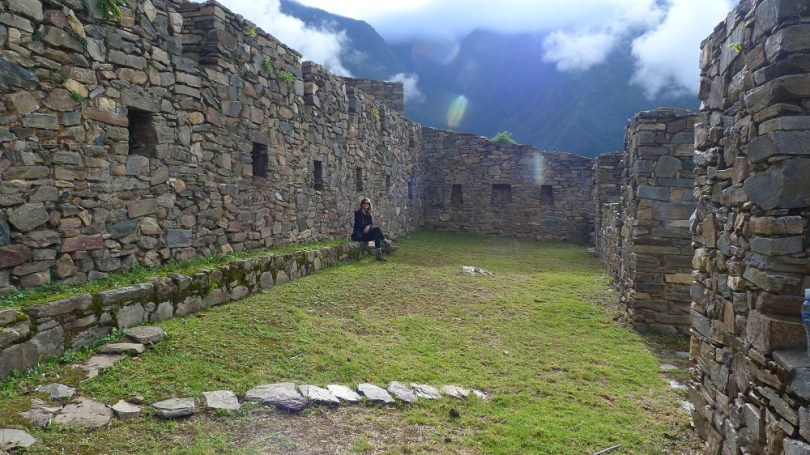 Choquequirao ruines principales