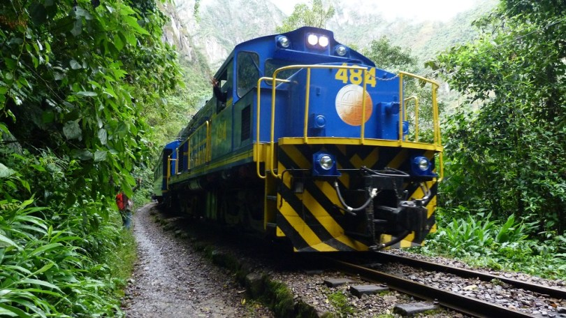 Train machu picchu