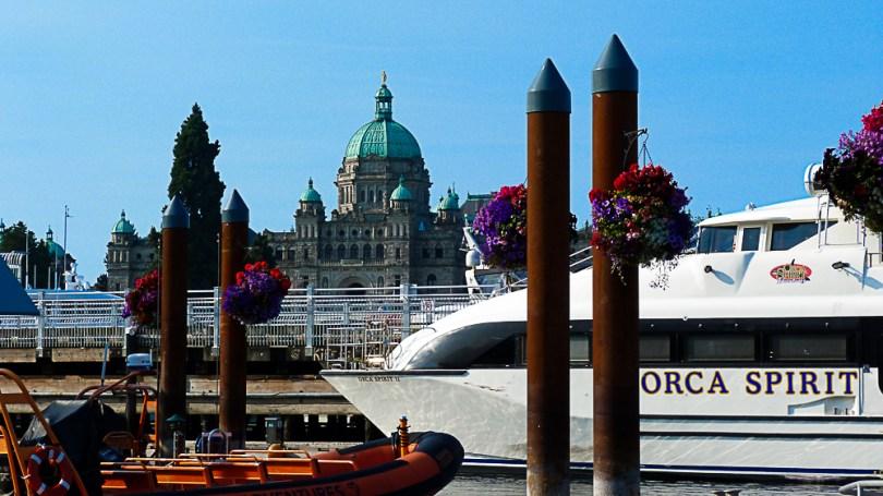 Canada Colombie britannique orca spirit bateau